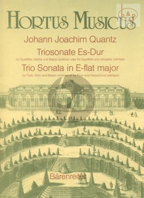 Trio Sonata E-flat major (Flute-Violin-Bc) (or Flute with Obl.Cembalo)