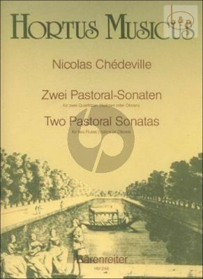2 Pastoral Sonatas Op.8 No.3 - 6 c-minor & C-major