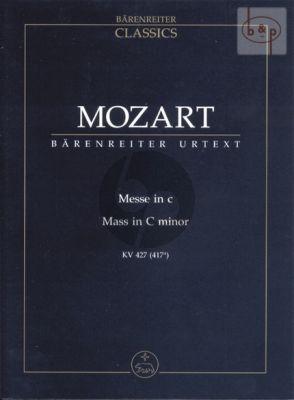 Messe c-moll KV 427 (417a) (Soli-Choir-Orch.) (Study Score)