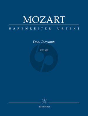 Mozart Don Giovanni KV 527 Studienpartitur (Wolfgang Plath/Wolfgang Rehm) (Urtext der Neuen Mozart-Ausgabe)