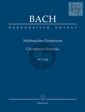 Weihnachts-Oratorium BWV 248 Studienpartitur