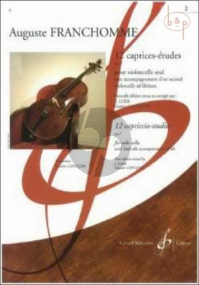 12 Caprices-Etudes Op.7 Vol.1