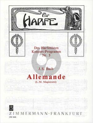 Bach Allemande (Magistretti)