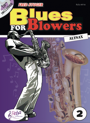 Stuger Blues for Blowers Vol.2 Altsax. (Bk-Cd)