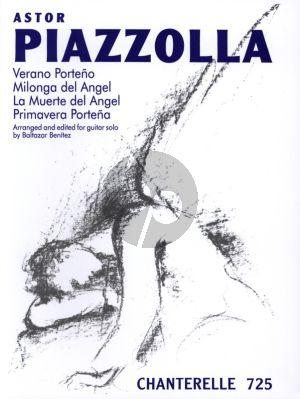 Piazzolla 4 Piezas Guitar (Baltazar Benitez)