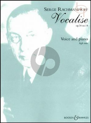 Vocalise Op.34 No.14