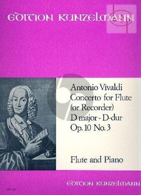 """Concerto Op.10 No.3 D-major """"Il Gardellino"""" (RV 428 /PV 155)"""