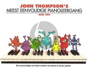 Thompson Meest Eenvoudige Pianoleergang Vol.1