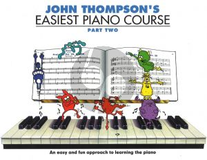 Thompson Easiest Piano Course vol.2 New Edition