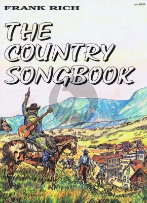 The Country Songbook melodielijn met akkoorden en tekst
