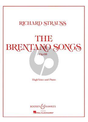 Strauss Brentano Songs Op.68 (High Voice)
