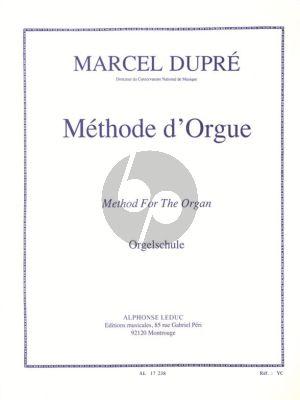 Dupre Methode d'Orgue (francaix-allemand-anglais)