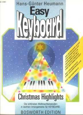 Chistmas Highlights Easy Keyboard