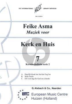 Asma Kerk en Huis Vol. 7 Kerstmelodien 2 voor Orgel