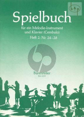 Spielbuch fir ein Melodieinstrument und Klavier Vol.2
