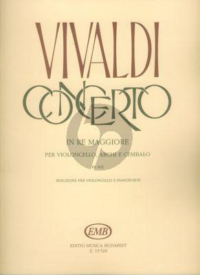 Concerto D-major RV 403 Violoncello-Klavier
