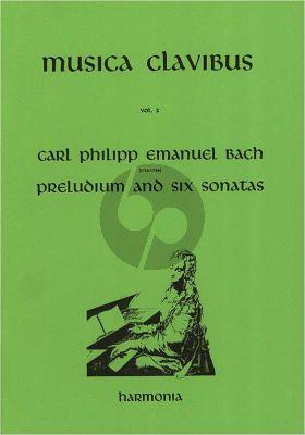 Bach Preludium and 6 Sonatas Organ (Brandts Buys)
