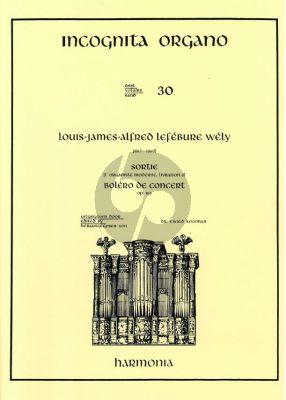 Lefebury-Wely Sortie-Bolero de Concert orgel (Kooiman)