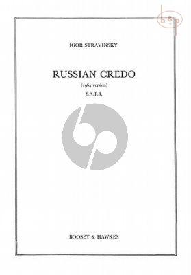 Russian Credo (SATB)