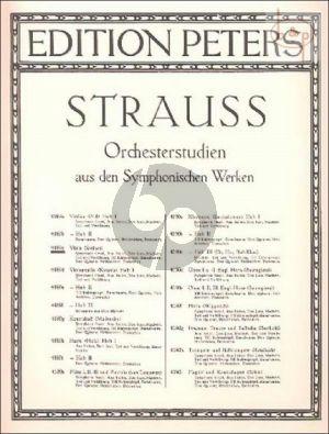 Orchesterstudien aus dem Symphonischen Werken