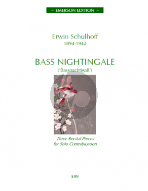 Schulhoff Bass Nightingale for Contrabassoon