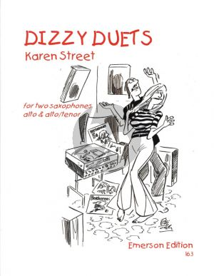Street Dizzy Duets for 2 Saxophones (AA/AT) (Score/Parts)