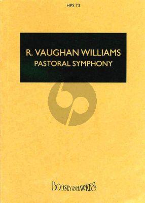 Vaughan Williams Symphony No.3 (Pastoral) Study Score