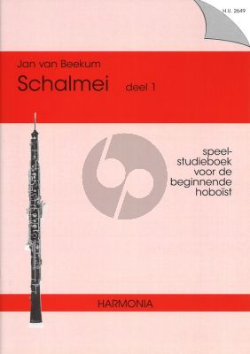 Beekum Schalmei Vol.1 (Speel- Studieboek beginnende Hoboist)