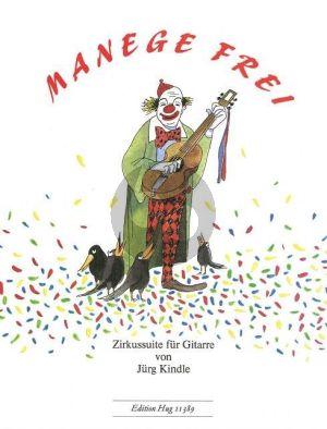 Kindle Manege Frei (Zirkus Suite) Gitarre