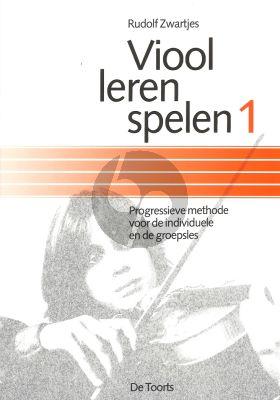 Zwartjes Viool Leren Spelen Vol.1 (Progressieve Methode voor de Individuele en de Groepsles)