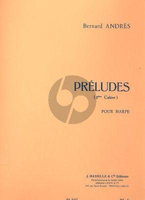 Andres Preludes Vol. 2 No. 6 - 10 Harpe (interm.level)