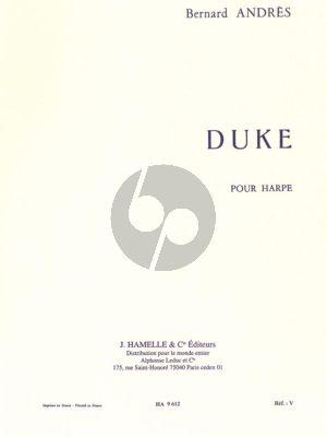 Andres Duke pour Harpe (interm.-adv.level)