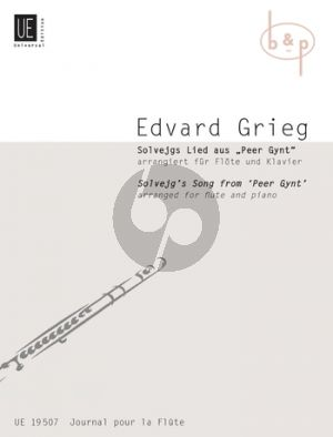 Grieg Solveig's Lied (Peer Gynt) (Flute-Piano) (transc. by Heinz Stolba)
