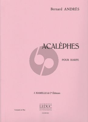 Acalephes pour Harpe