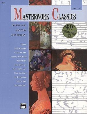 Masterwork Classics Level 1-2 Piano (Bk-Cd)