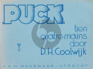 Coolwijk Puck Piano 4 hands (10 Pieces)