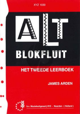 Arden Altblokfluit Vol.2