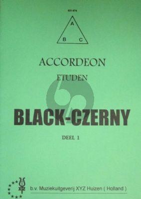 Czerny Akkordeon-Etuden Vol.1