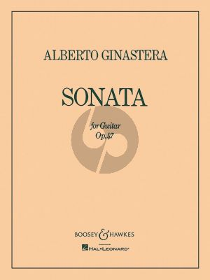 Ginastera Sonata Op. 47 for Guitar