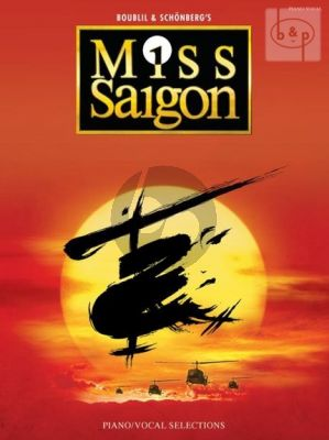 Boublil-Schonberg Miss Saigon (Songs from the Musical) Piano-Vocal-Guitar