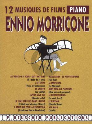 Morricone 12 Musiques de Films Piano