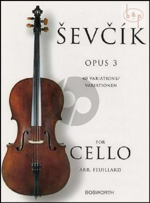 Sevcik 40 Variations Op. 3 for Cello (Feuillard)