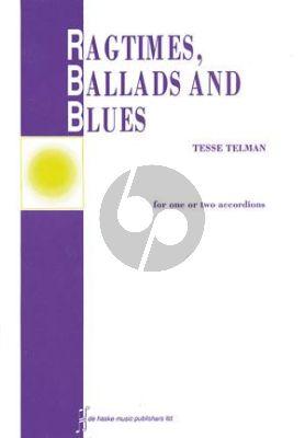 Ragtimes-Ballads & Blues 1 - 2 Akkordeons