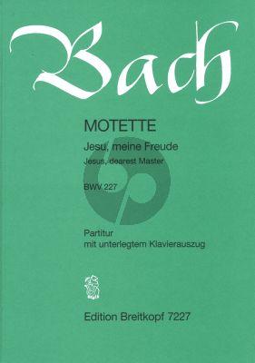 Bach J.S. Jesu meine Freude (BWV 227) (SSATB-Piano) (Schulze)