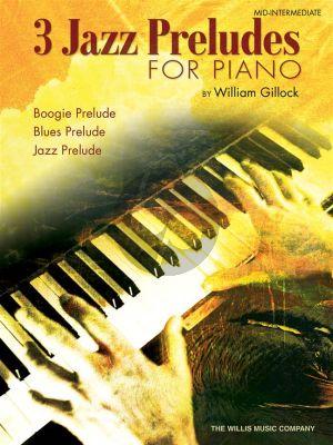 Gillock 3 Jazz Preludes for Piano solo