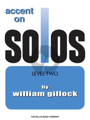 Gillock Accent on Solos Level 2 Piano