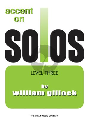 Gillock Accent on Solos Level 3 Piano