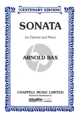 Bax Sonata for Clarinet[Bb] and Piano