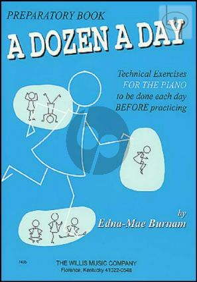 Dozen a Day Preparatory Book