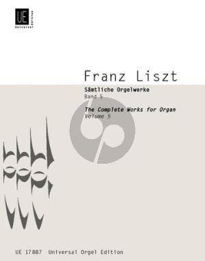 Liszt Samtliche Orgelwerke Vol.5 (Martin Haselböck)